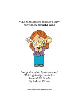"""The Night Before Mother's Day""- Comprehension and more Mo"