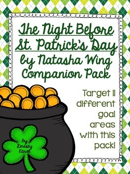 The Night Before St. Patrick's Day by Natasha Wing Companion Pack