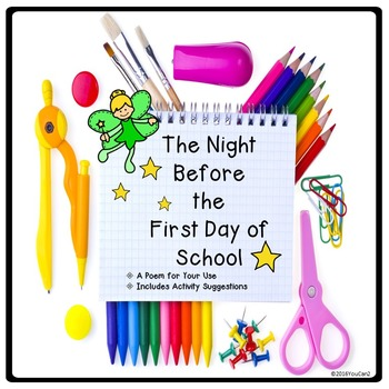 The Night Before the First Day of School: A Poem and Sugge