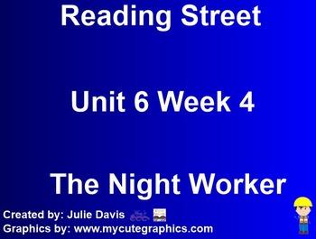 The Night Worker SmartBoard Companion Kindergarten