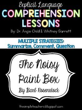 The Noisy Paint Box - Summarize, Comment, Question
