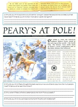 The North Pole - The Expedition of Robert Peary