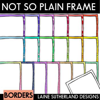 The Not So Plain Jane Frame Set