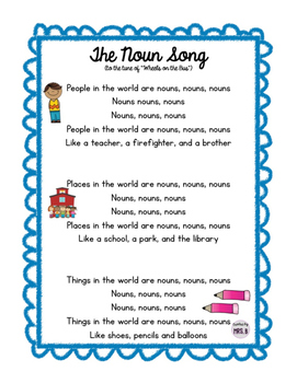 The Noun Song!
