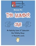 The Number One - Cool Math Game - Subtraction, Calculation