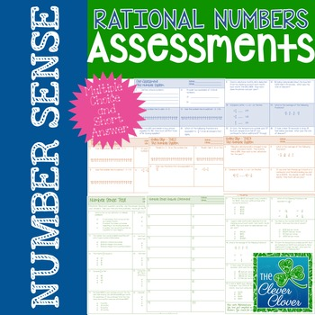 Rational Number Assessments