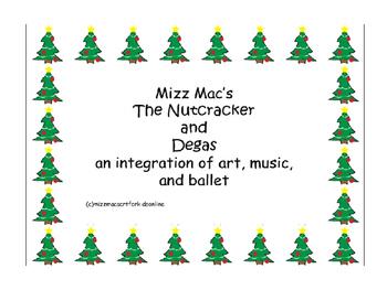 Art, Edgar Degas, Ballet and the Nutcracker