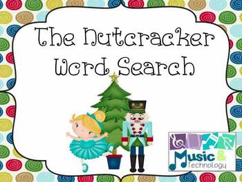 The Nutcracker Wordsearch