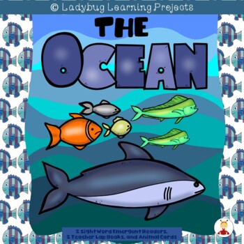 The Ocean Bundle  (2 Sight Word Readers, 2 Teacher Lap Boo