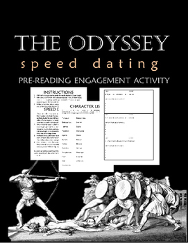 The Odyssey Character Speed Dating Pre-Reading Engagement