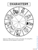 THE ODYSSEY CHARACTER WHEEL INTERACTIVE NOTEBOOK ACTIVITY