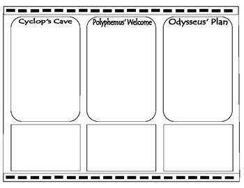 """The Odyssey"" - Cylcops Comic Strip"