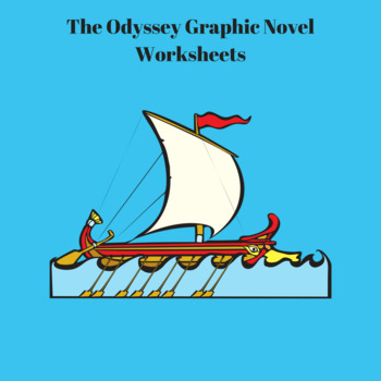 The Odyssey Graphic Novel by Gareth Hinds Worksheets for E