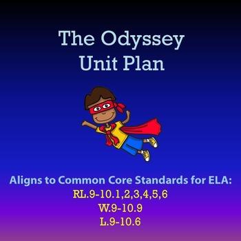 The Odyssey Unit Plan {11 Books}
