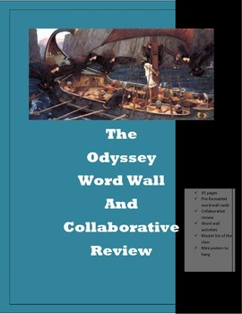 The Odyssey Word Wall and Collaborative Review Activity