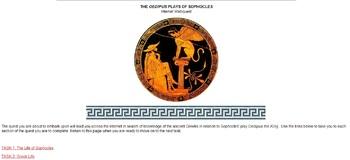 Sophocles' Oedipus and Antigone - Internet WebQuest - Greek Drama