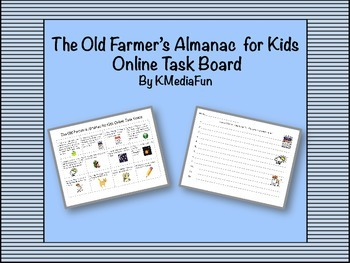 The Old Farmer's Almanac for Kids Online Task Board