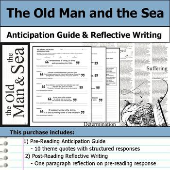The Old Man and the Sea - Anticipation Guide & Reflection