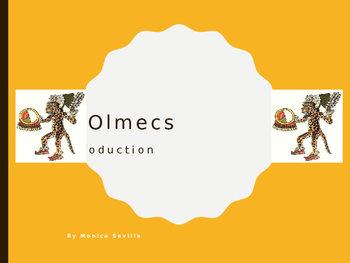 The Olmecs: An Introduction Powerpoint