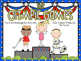 The Olympic Games: Pre-K and Kindergarten Activities