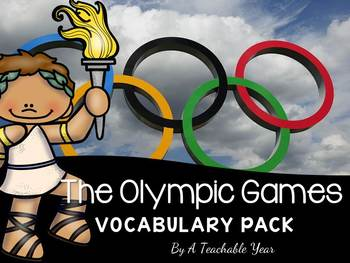The Olympic Games- Vocabulary Pack