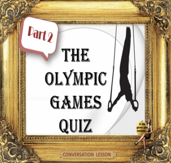 The Olympic games - conversation for ESL adults and high school