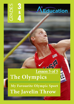 The Olympics (Lesson 5 of 5)-My Favourite Olympic Sport; T