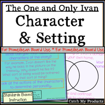 The One and Only Ivan Character & Setting Analysis for Pro