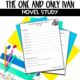 The One and Only Ivan Complete Novel Unit Plan