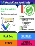 The One and Only Ivan Book Novel Study Guide PDF | READING
