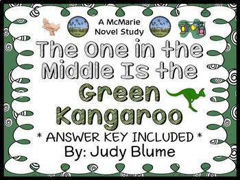 The One in the Middle is the Green Kangaroo (Blume) Novel