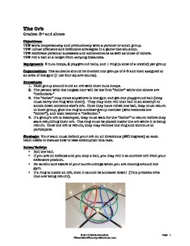 The Orb - Large Group PE Activity