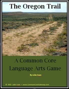 The Oregon Trail Common Core Language Arts Game