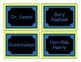 """""""The Organized Classroom"""" Library Labels"""