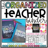 The {COMPLETE} Organized Teacher Notebook and Planner