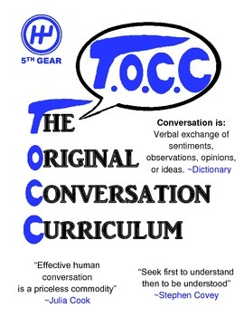 The Original Conversation Curriculum
