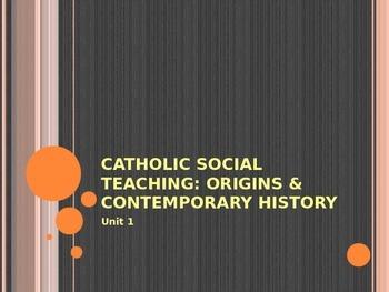 The Origins of Catholic Social Teaching
