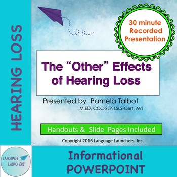 """The """"Other"""" Effects of Hearing Loss"""