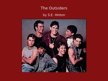 The Outsiders Unit PowerPoint