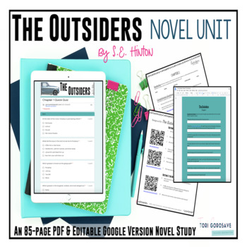 The Outsiders Novel Unit