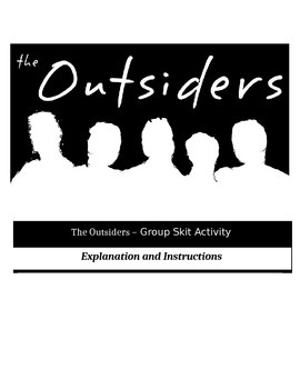 The Outsiders - Perfect Group Skit Activity