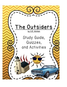 The Outsiders - Questions, Quizzes, Activities