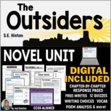 OUTSIDERS - Novel Unit Common Core Aligned