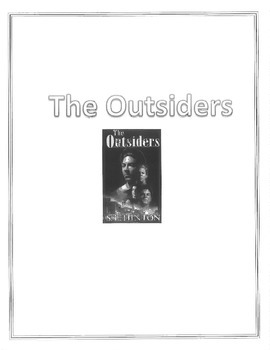 The Outsiders Student Workbook