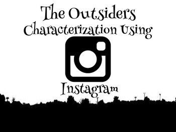 The Outsiders: Understanding Characterization Using Instagram