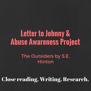 The Outsiders by S.E. Hinton: Letter to Johnny & Abuse Awa