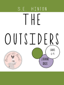 The Outsiders by S.E. Hinton Literature Circles