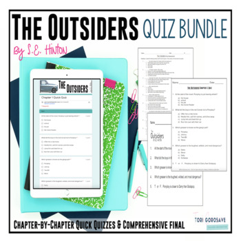 The Outsiders (by S.E. Hinton) Quiz Bundle