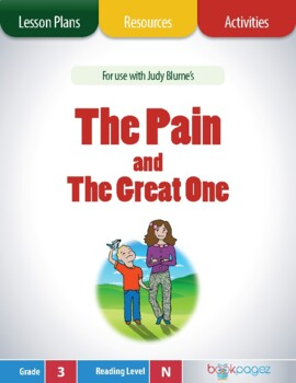The Pain and the Great One Lesson Plans & Activities Packa