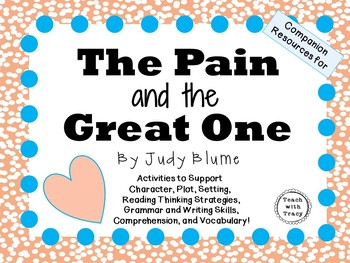 The Pain and the Great One by Judy Blume: A Complete Liter